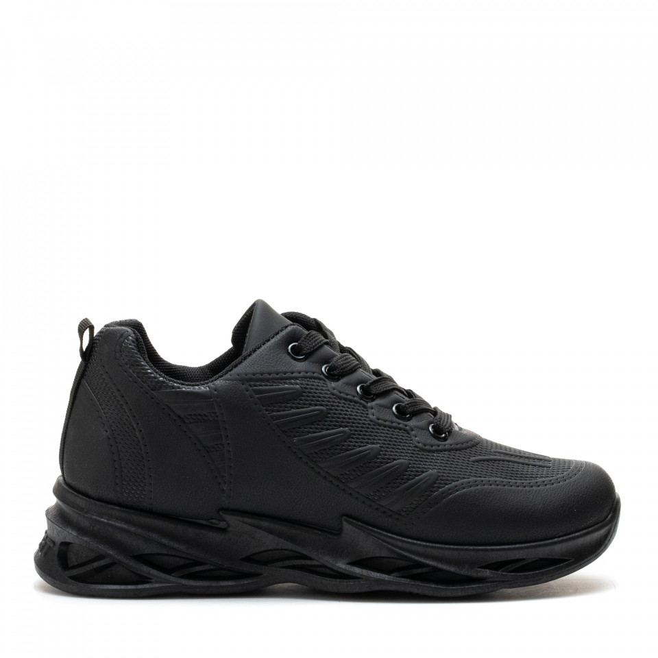 Pantofi Sport Cod: HQ-099-049 ALL BLACK (I 02 )