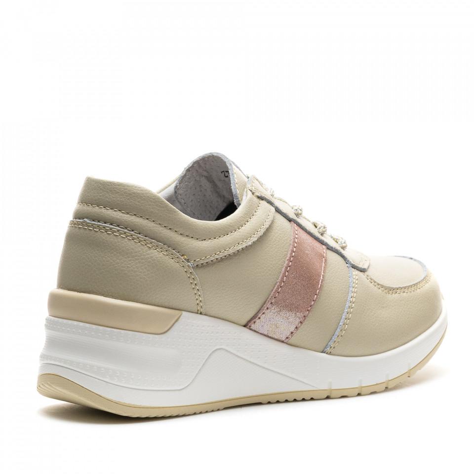 Pantofi Sport Cod: ZT-01 BEIGE (F03)