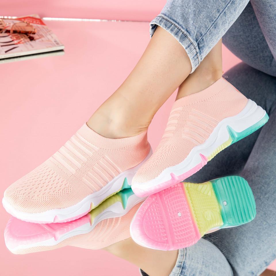 "Pantofi sport ""MireaFashion"" Cod: 0113-3 PINK (S02)"