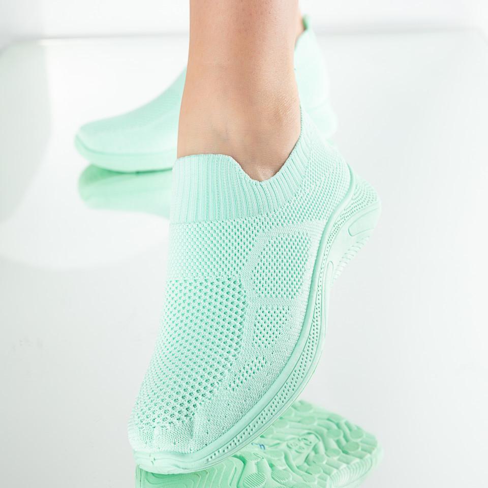 "Pantofi Sport ""MireaFashion"" Cod: H-1 L. GREEN (A01)"