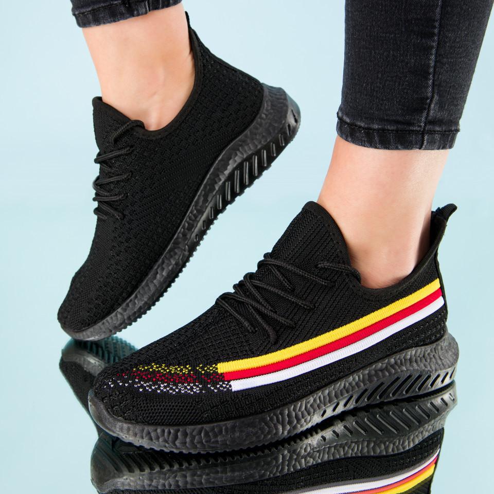 "Pantofi sport ""MireaFashion"" Cod: HQ-2-15 BLACK (A05)"