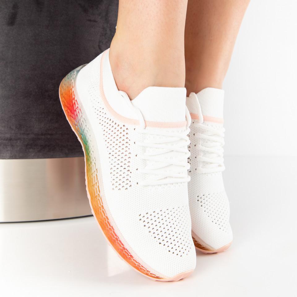 """Pantofi Sport """"MireaFashion"""" Cod: J76-3 WHITE/PINK (P02)"""
