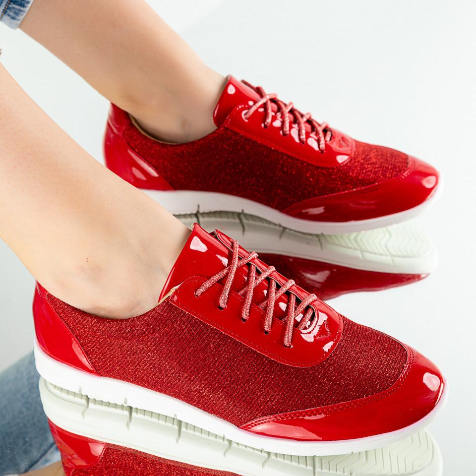"Pantofi Sport ""MireaFashion"" Cod: W830-2 RED (C 03)"