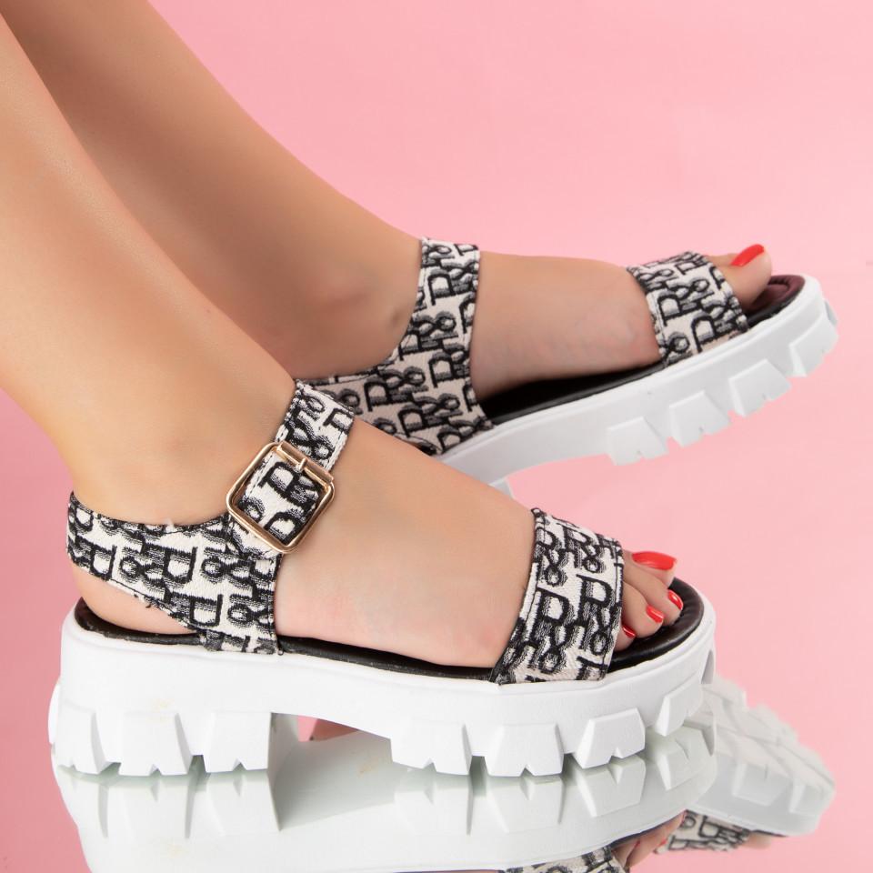 "Sandale ""MireaFashion"" Cod: 1120 BLACK (B011)"
