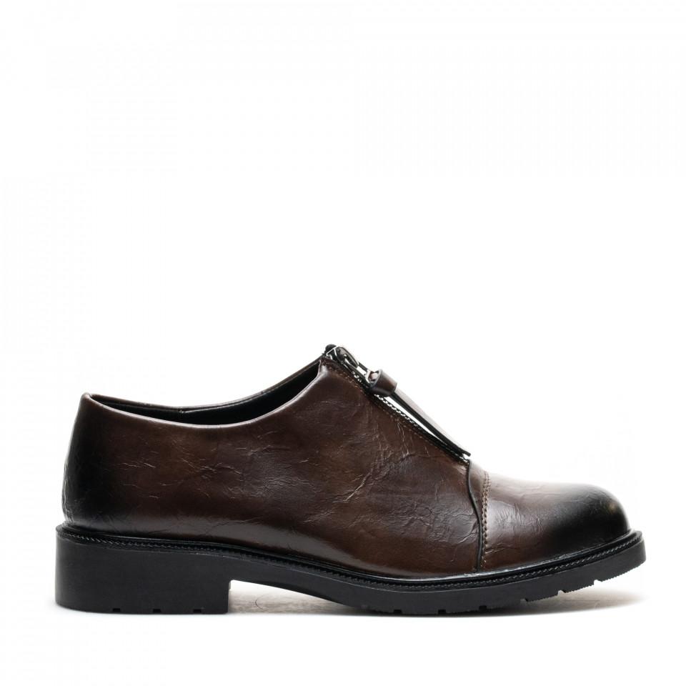 Pantofi Cod: W64-43C BROWN (J03)