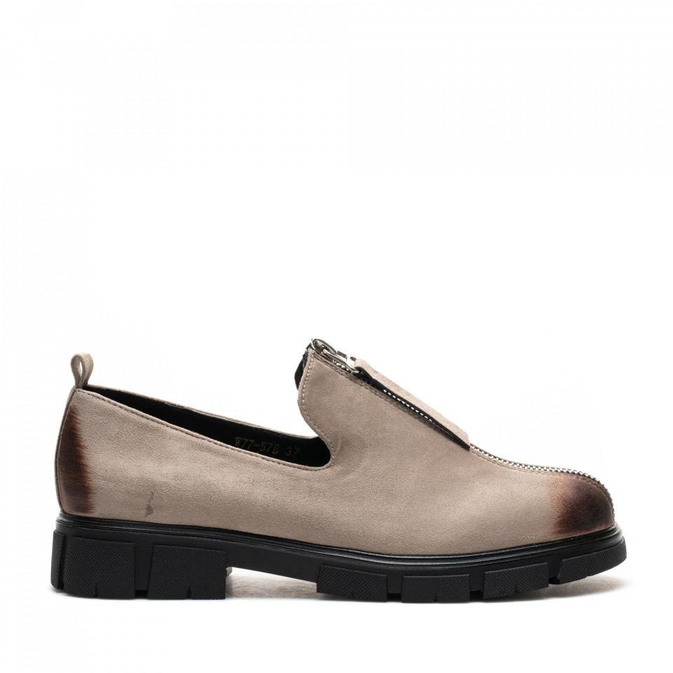Pantofi Cod: W77-57B BEIGE (F01)