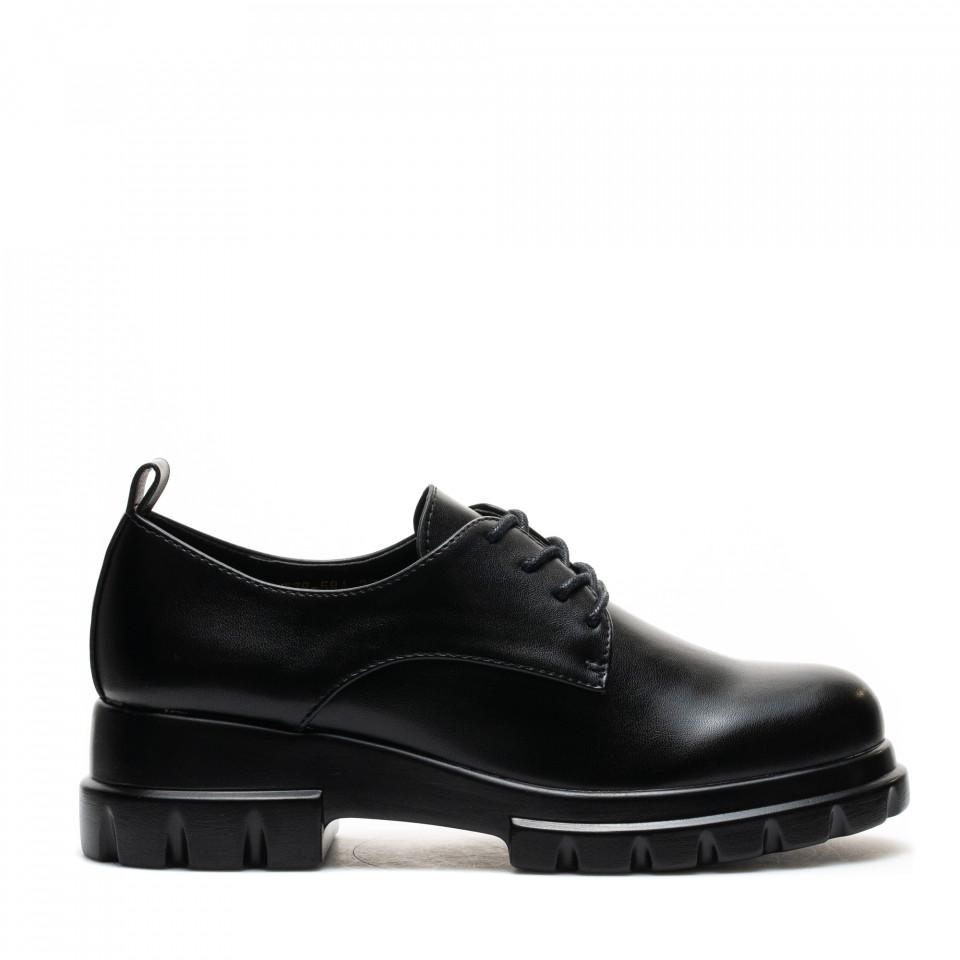 Pantofi Cod: W78-58A BLACK (H03)