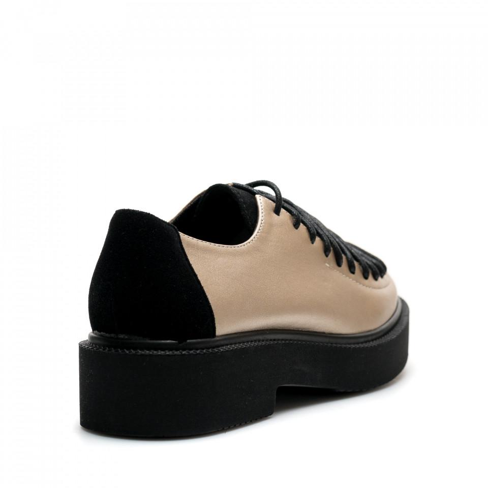 Pantofi Cod: XH-03 GOLD (F03)