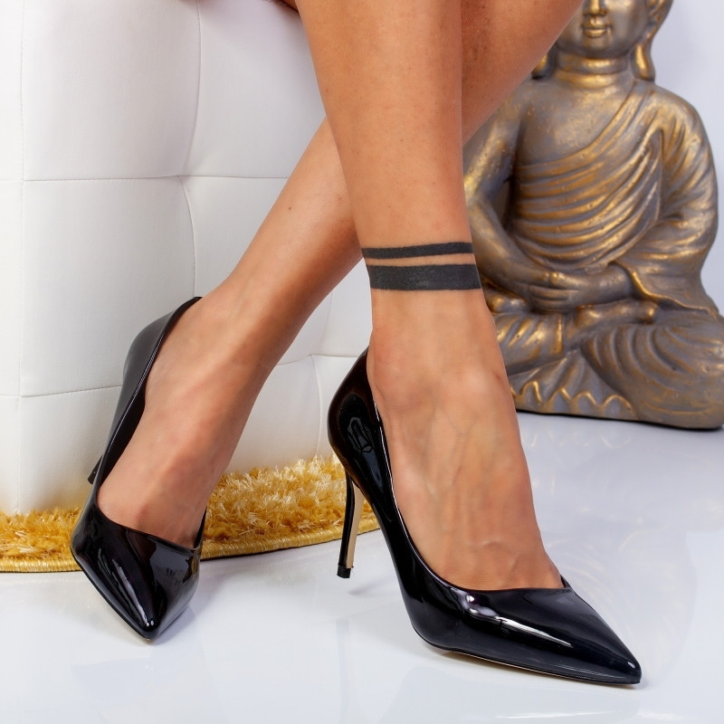 "Pantofi ""MireaFashion"" Cod: 588-26 PURPLE (N02)"