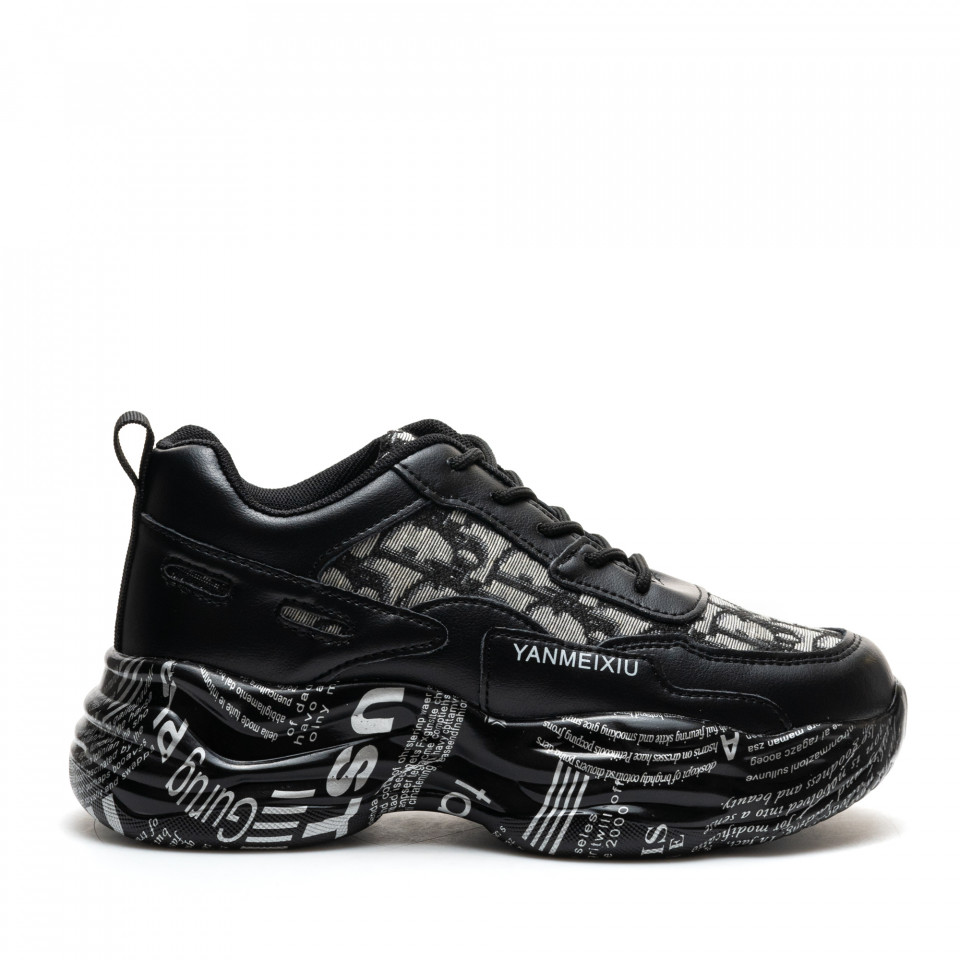 Pantofi Sport Cod: 2087 BLACK (C 05)