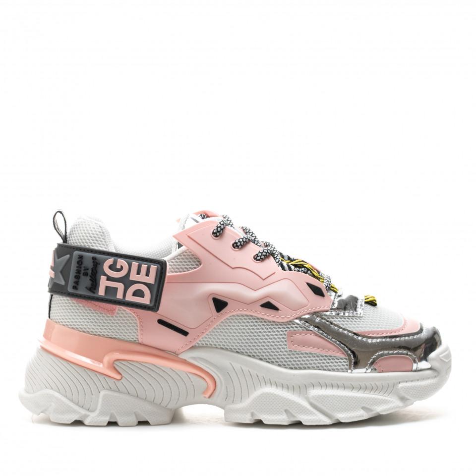 Pantofi Sport Cod: A80-3 PINK (H01)