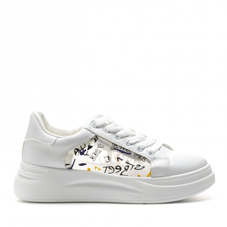 Pantofi Sport Cod: C90 WHITE (J01)