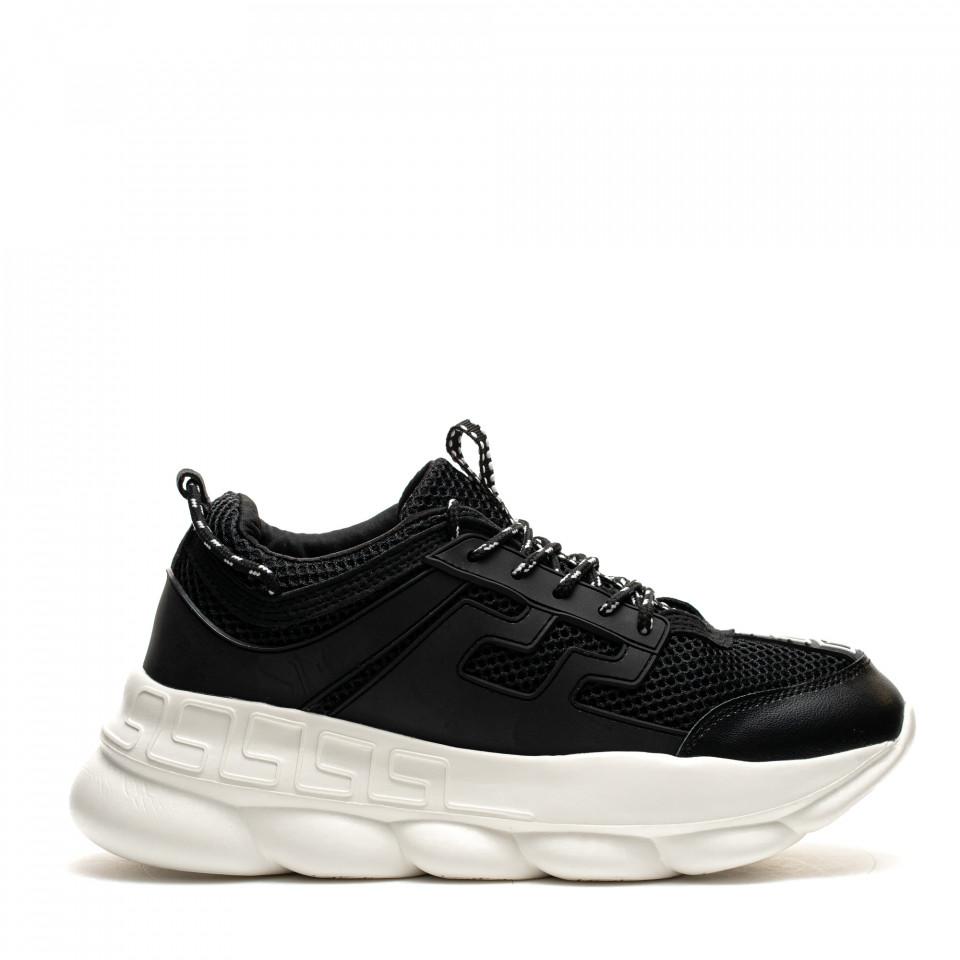 Pantofi Sport Cod: H3 BLACK/WHITE (I04)