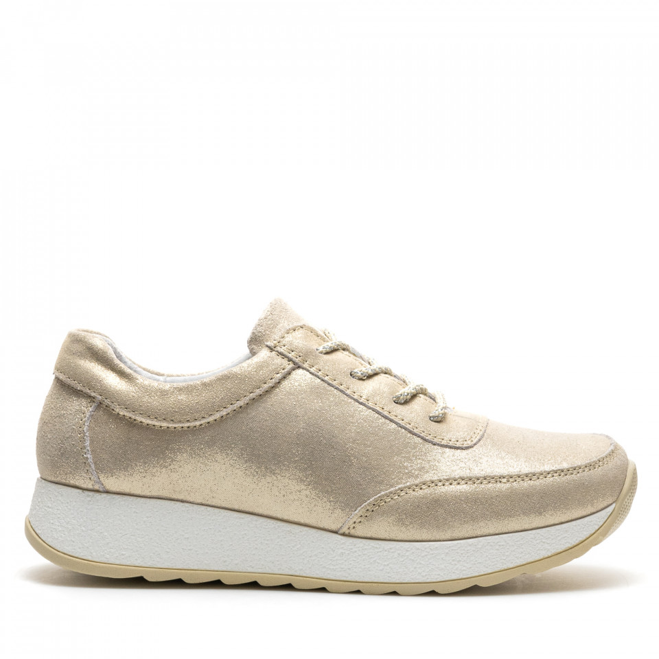 Pantofi Sport Cod: PL-3107 GOLD (D02)