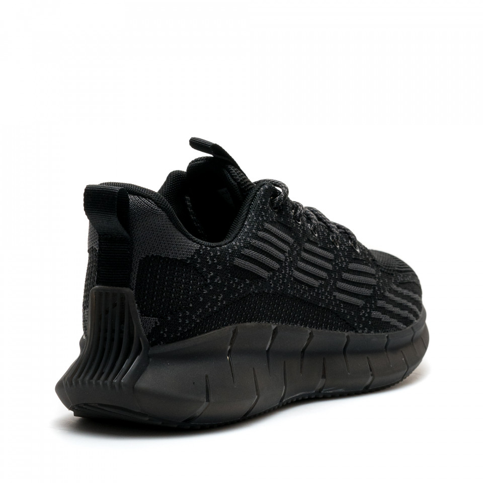 Pantofi Sport Cod: U0638-1 BLACK/GREY (I 04)(J04)