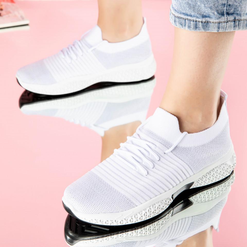 """Pantofi sport """"MireaFashion"""" Cod: 0105-2 WHITE (A 08)"""