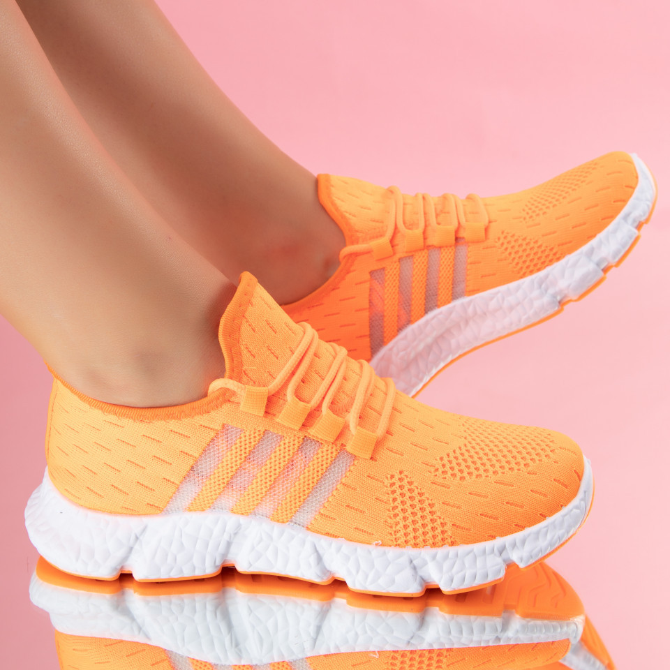 "Pantofi Sport ""MireaFashion"" Cod: 133A ORANGE (E04-05)-(U03)"