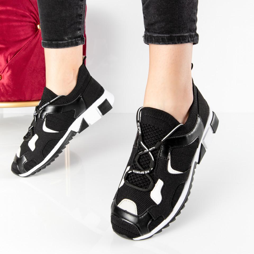 "Pantofi sport ""MireaFashion"" Cod: 81087-1 BLACK (A03)"