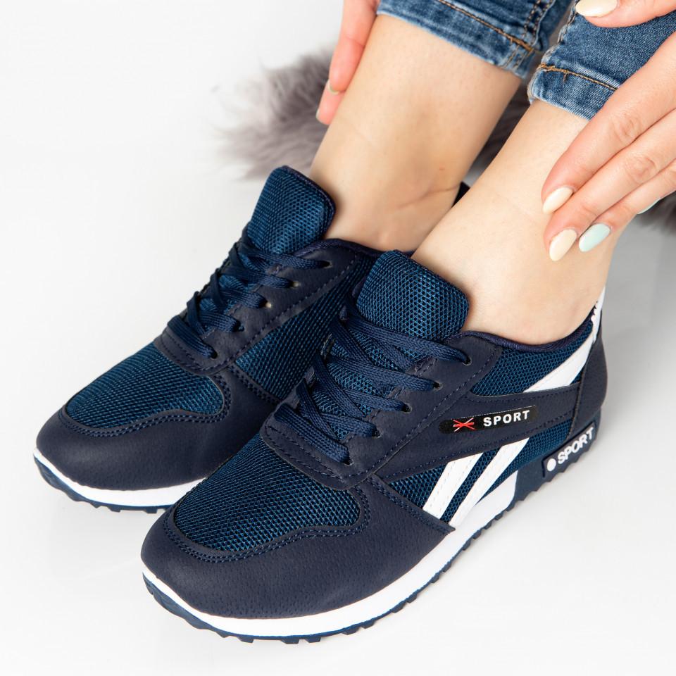 "Pantofi Sport ""MireaFashion"" Cod: 821-3 BLUE (R06)"