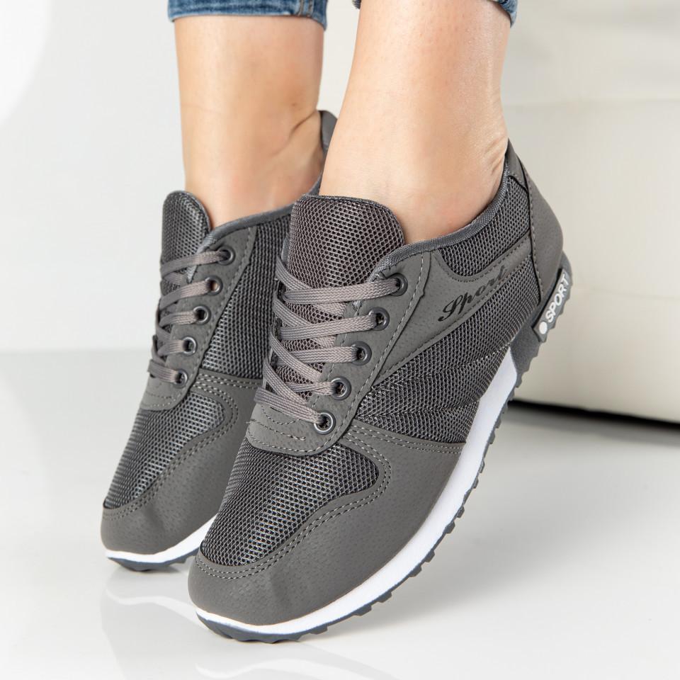 """Pantofi Sport """"MireaFashion"""" Cod: 828-4 GREY (N05)"""