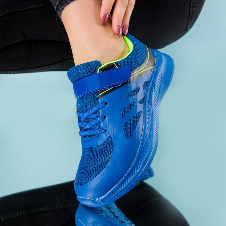 "Pantofi sport ""MireaFashion"" Cod: B072 R.BLUE (A 04)"