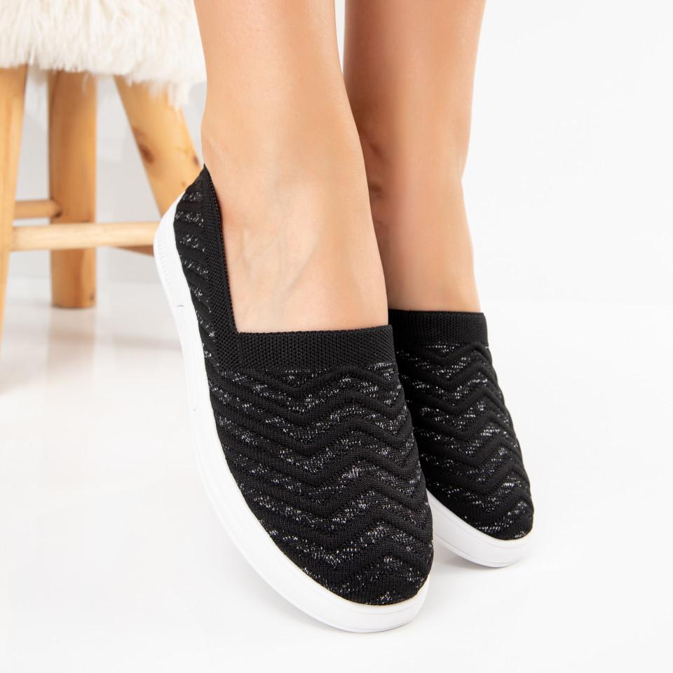 "Pantofi Sport ""MireaFashion"" Cod: H61-1 BLACK (C013)"