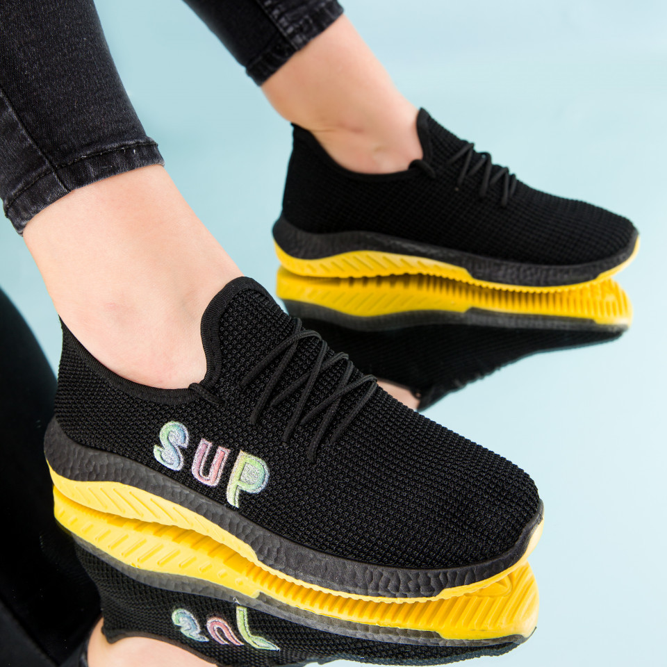"Pantofi sport ""MireaFashion"" Cod: HQ-4-27 BLACK (E07)"