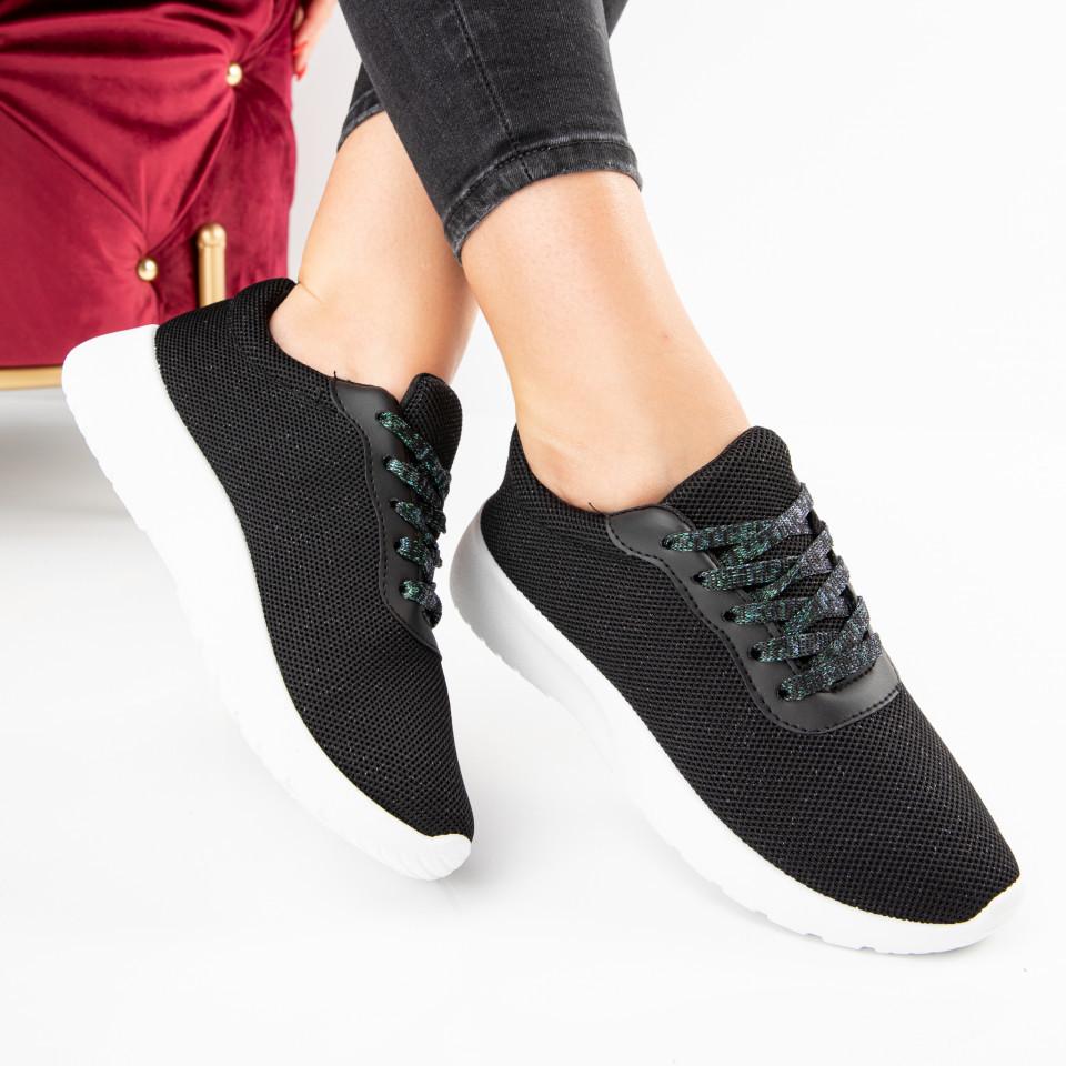 "Pantofi Sport ""MireaFashion"" Cod: YKQ3001 BLACK (H05)"