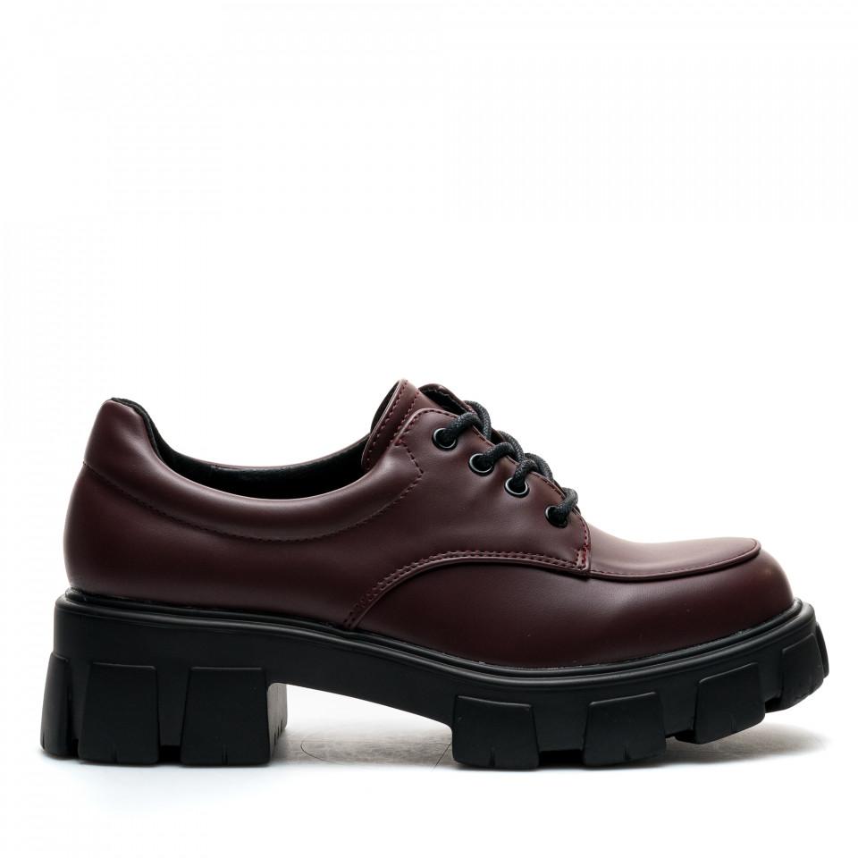 Pantofi Cod: A21-31 WINE (E011)