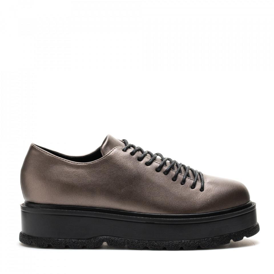 Pantofi Cod: XH-30A CHAMPAGNE (H01)