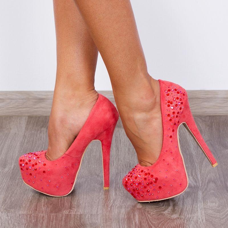 """Pantofi """"MEI Fashion"""" Cod: OL-2500-1 RED (A 07- O 03)"""