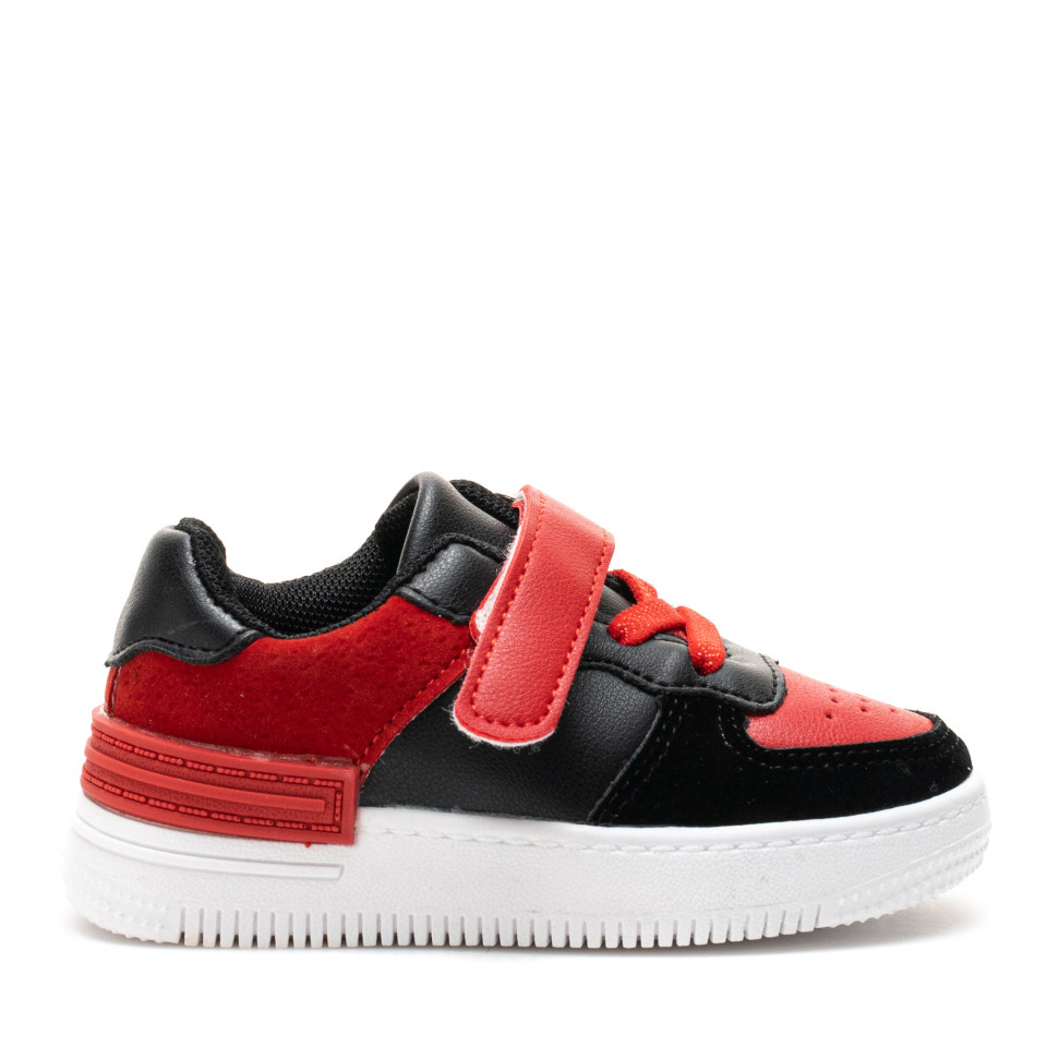Pantofi Sport Cod: KJ10 BLACK/RED (J02-03)