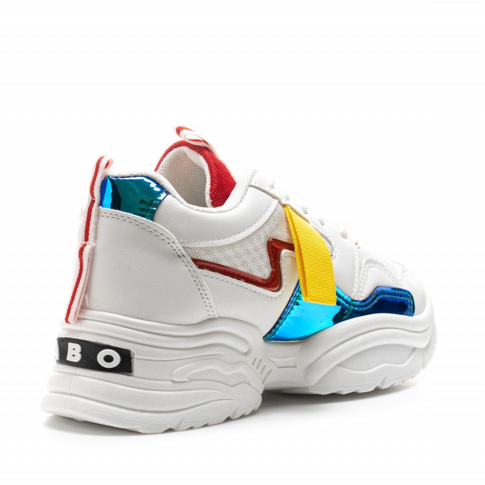 Pantofi Sport Cod: MM-41 WHITE (C 05)