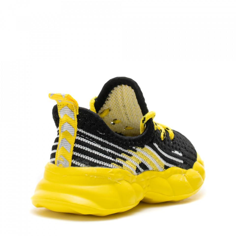 Pantofi Sport Cod: Z-7A YELLOW (D03)