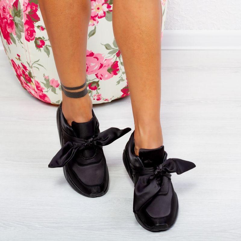 "Pantofi Sport ""MireaFashion"" Cod: 40253 BLACK (B012) (Y05)"