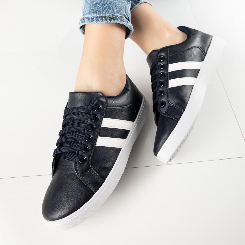 "Pantofi Sport ""MireaFashion"" Cod: A1803-3 BLUE (B011)"