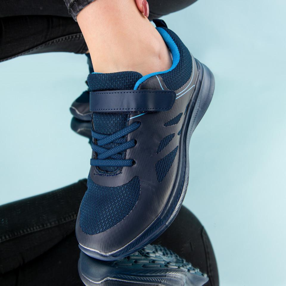 "Pantofi sport ""MireaFashion"" Cod: B072 NAVY (L02)"