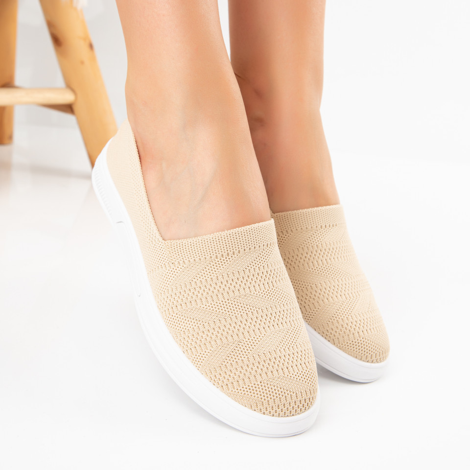 "Pantofi Sport ""MireaFashion"" Cod: H62-2 BEIGE (F05)"