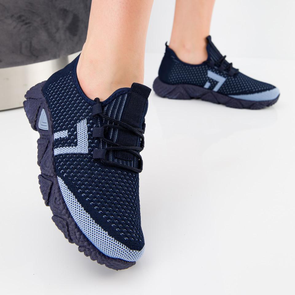 """Pantofi sport """"MireaFashion"""" Cod: HQ-203-241 NAVY/W.BLUE (N 01)(N02)"""