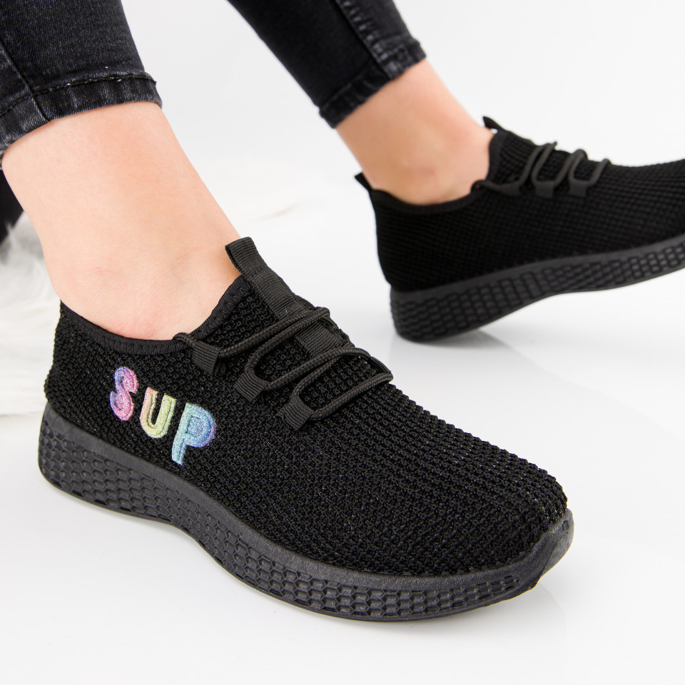 "Pantofi sport ""MireaFashion"" Cod: HQ-36-171 BLACK (B02)"