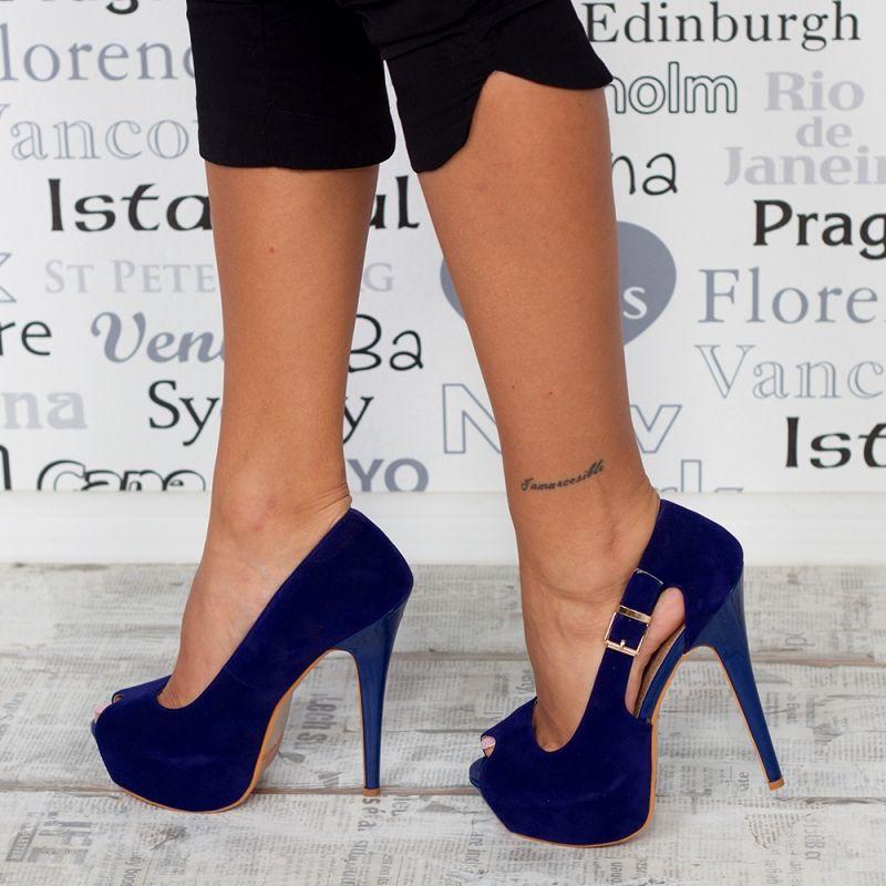 """Sandale """"MireaFashion"""" Cod: PM-299 BLUE (N14/16)"""