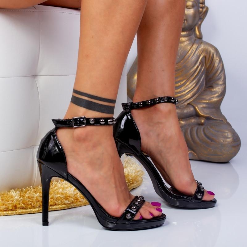 "Sandale ""MireaFashion"" Cod: YES-8189-1 BLACK (J05)"