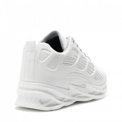 Pantofi Sport Cod: HQ-092-019 WHITE/SILVER (J04)