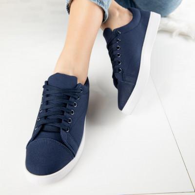 "Pantofi Sport ""MireaFashion"" Cod: A1808-3 NAVY (A014)"