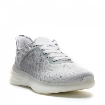 Pantofi Sport Cod: U0539-2 WHITE/L.GREY (E011)