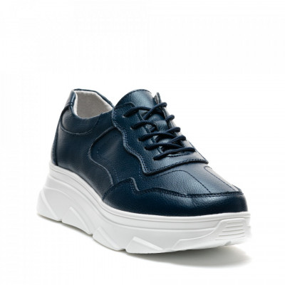 Pantofi Sport Cod: AW101 NAVY LEATHER (H03)