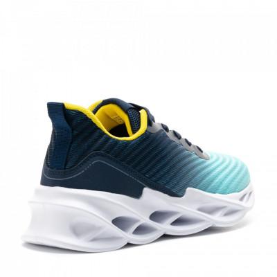 Pantofi Sport Cod: D0567-9 NAVY/YELLOW (E09)