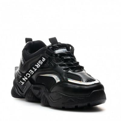 Pantofi Sport Cod: 8806-1 BLACK (J03)