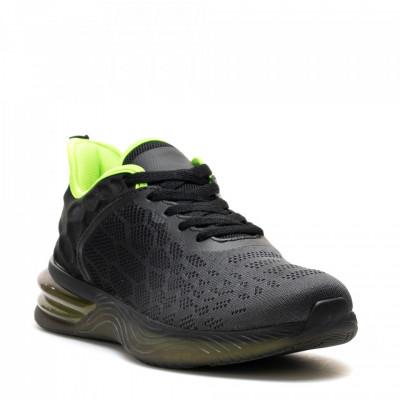 Pantofi Sport Cod: U0539-1 BLACK/DK.GREY (J04)