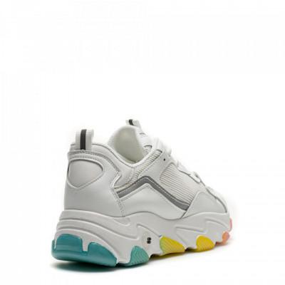 Pantofi Sport Cod: D02-2 WHITE/GREY (I 01)